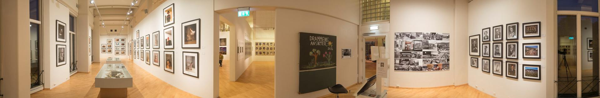 Panorama 2 fra utstillingen på Drammen Museum