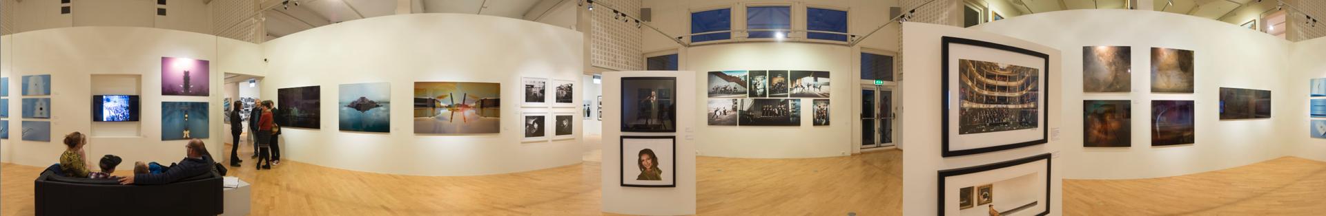 Panorama 4 fra utstillingen på Drammen Museum