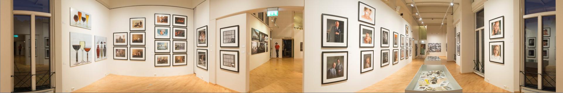 Panorama 3 fra utstillingen på Drammen Museum